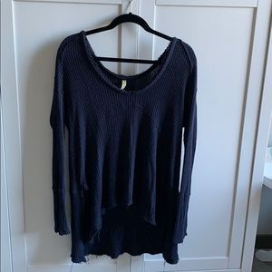 Free People Sunset Park Thermal Sweater